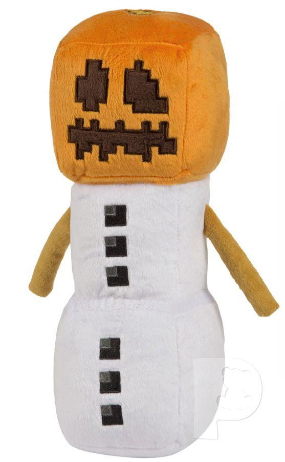 Plyšový Snow Golem - Minecraft (30 cm)