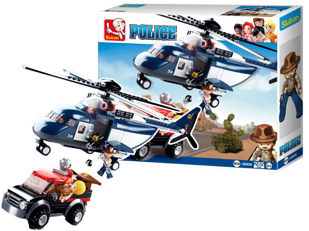 Staveb. Polícia veľká helikoptéra 285ks