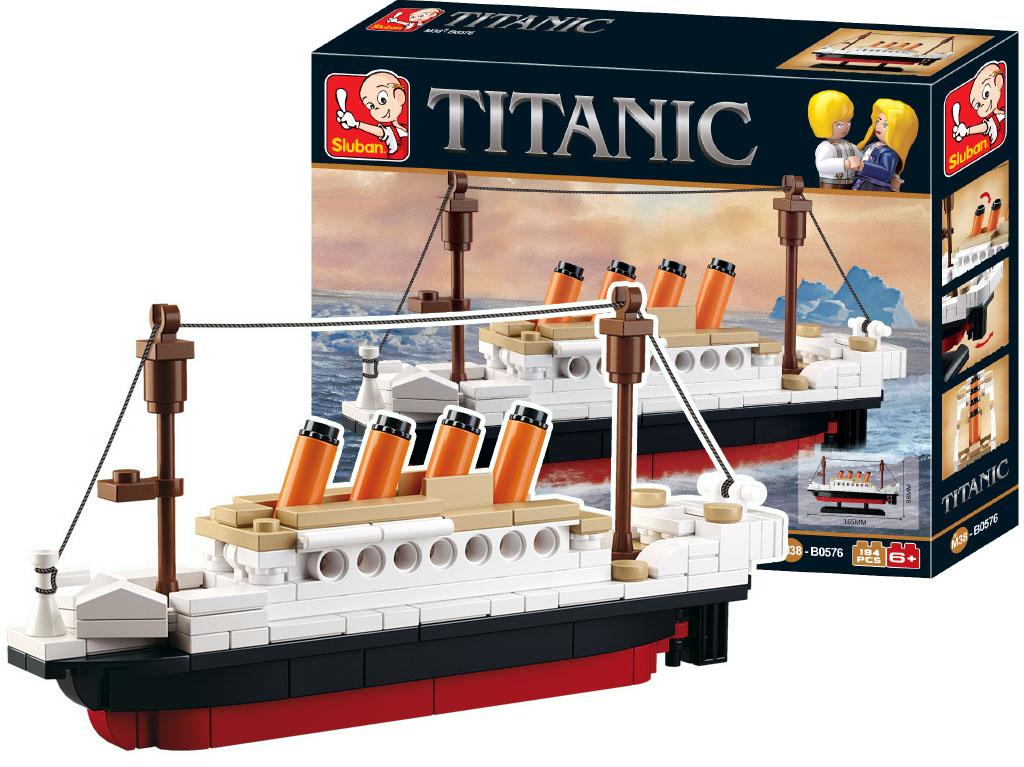 Stavebnica Titanic malý 184ks