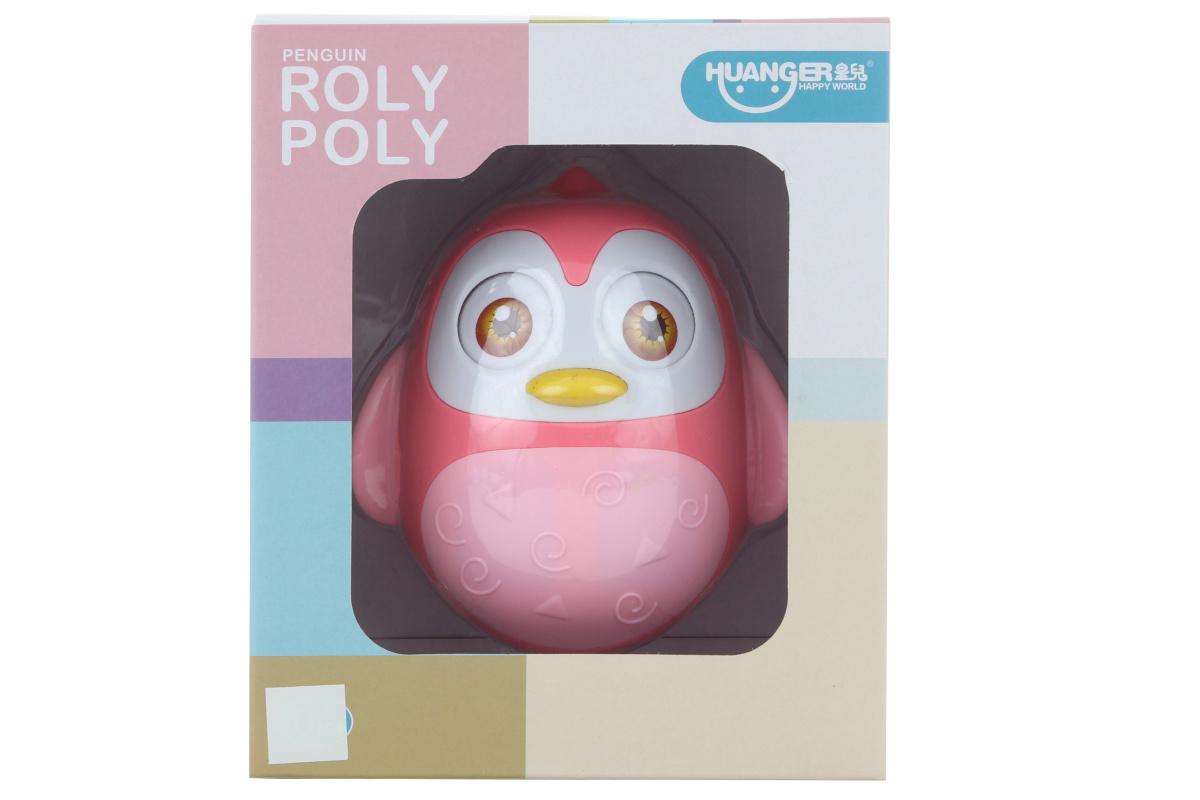 Rolly-polly ružové 19,5cm