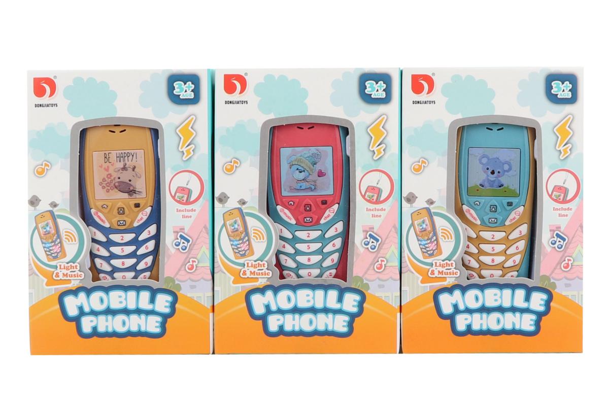 Mobil 2 druhy na batérie