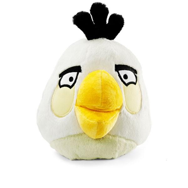Plyšový Angry Birds biely so zvukom (20 cm)