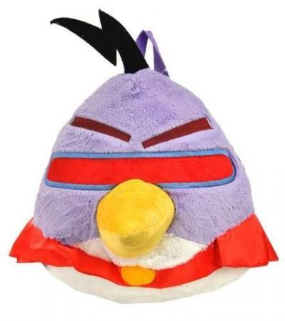 Plyšový Angry Birds - Space fialový - prívesok