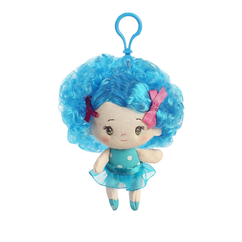 Bábika Olivia - prívesok - Cutie Curls (10 cm)