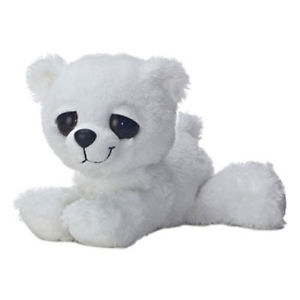 Plyšový polárny medvedík - Dreamy Eyes (30,5 cm)