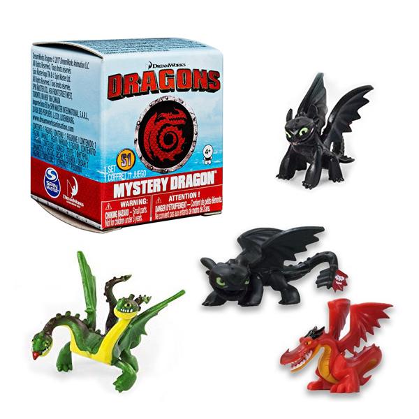 Figúrka - Ako si vycvičiť draka - náhodný výber v škatuľke (5 cm)