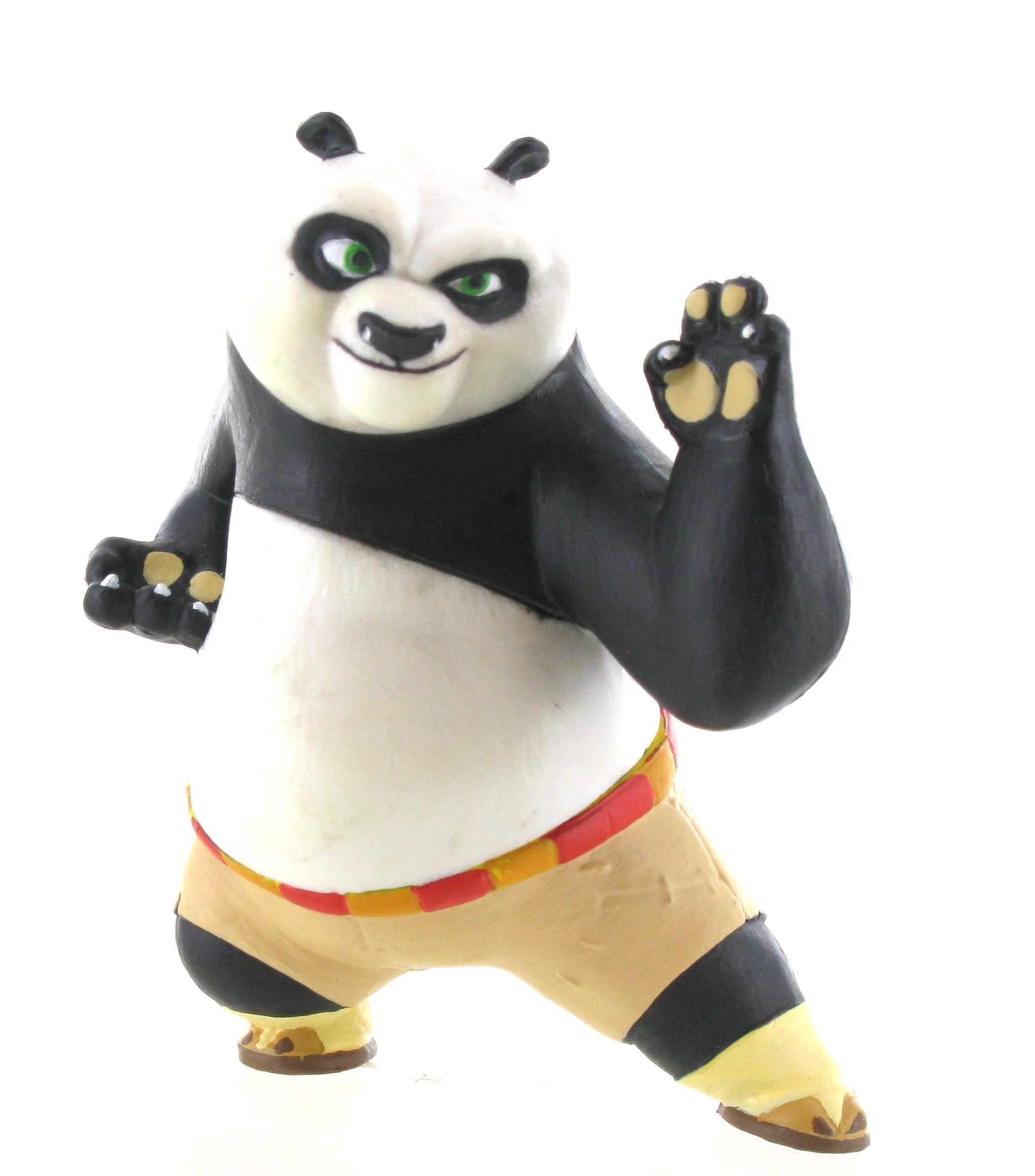 Figurka bojovníka Po - Kung Fu Panda (6 cm)