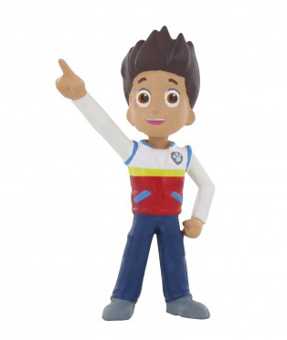 Figurka chlapec Ryder - Paw Patrol (5 cm)