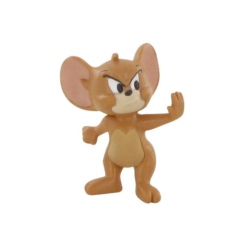 Figúrka myšiak Jerry - nahnevaný - Tom a Jerry (6 cm)