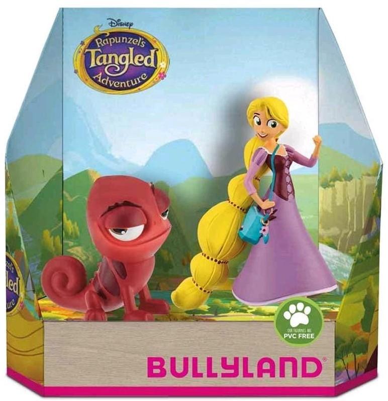 Figúrka Na vlásku - Rapunzel a červený Pascal - Disney - 10 cm