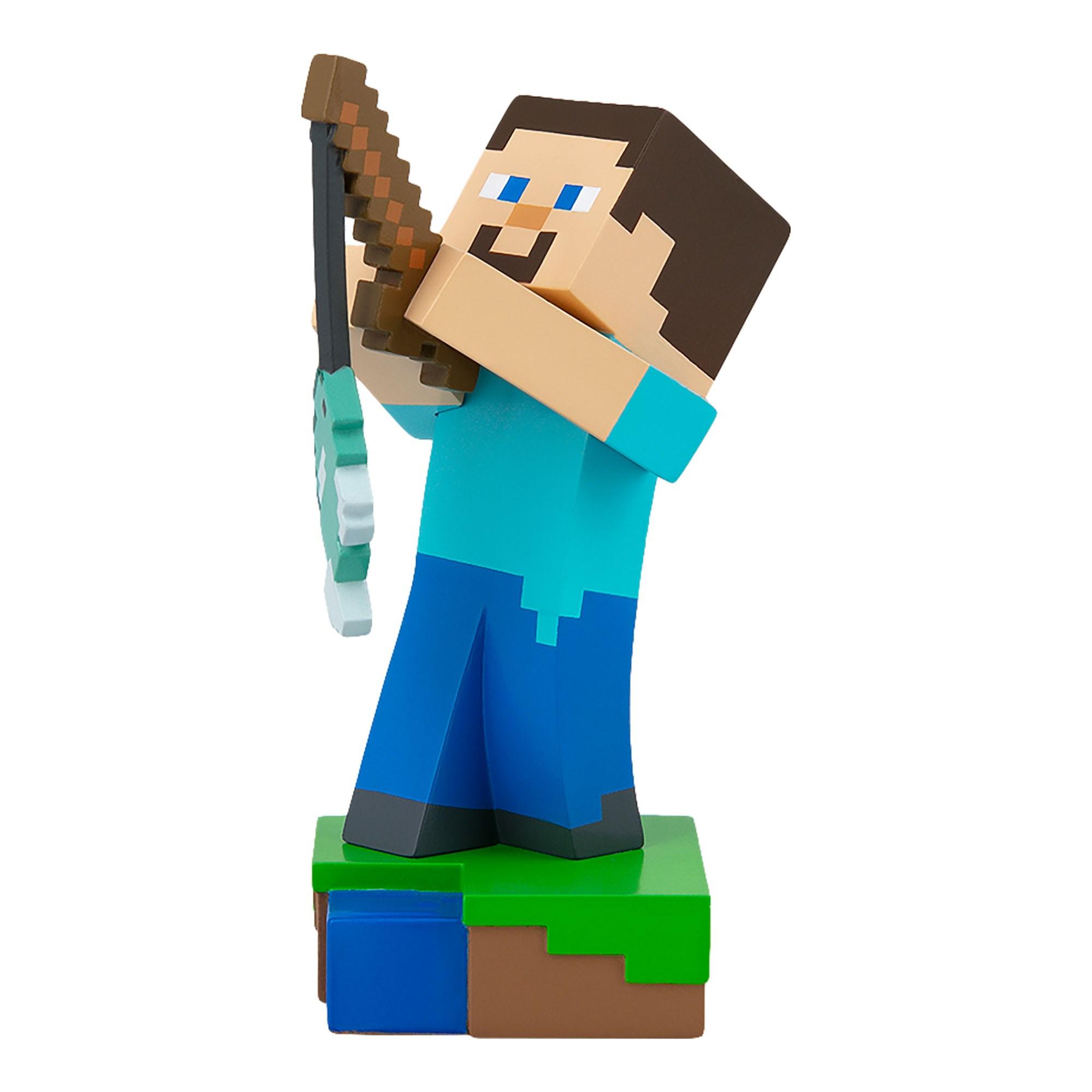 Figúrka Steve Fishing v škatuľke - Minecraft (10 cm)