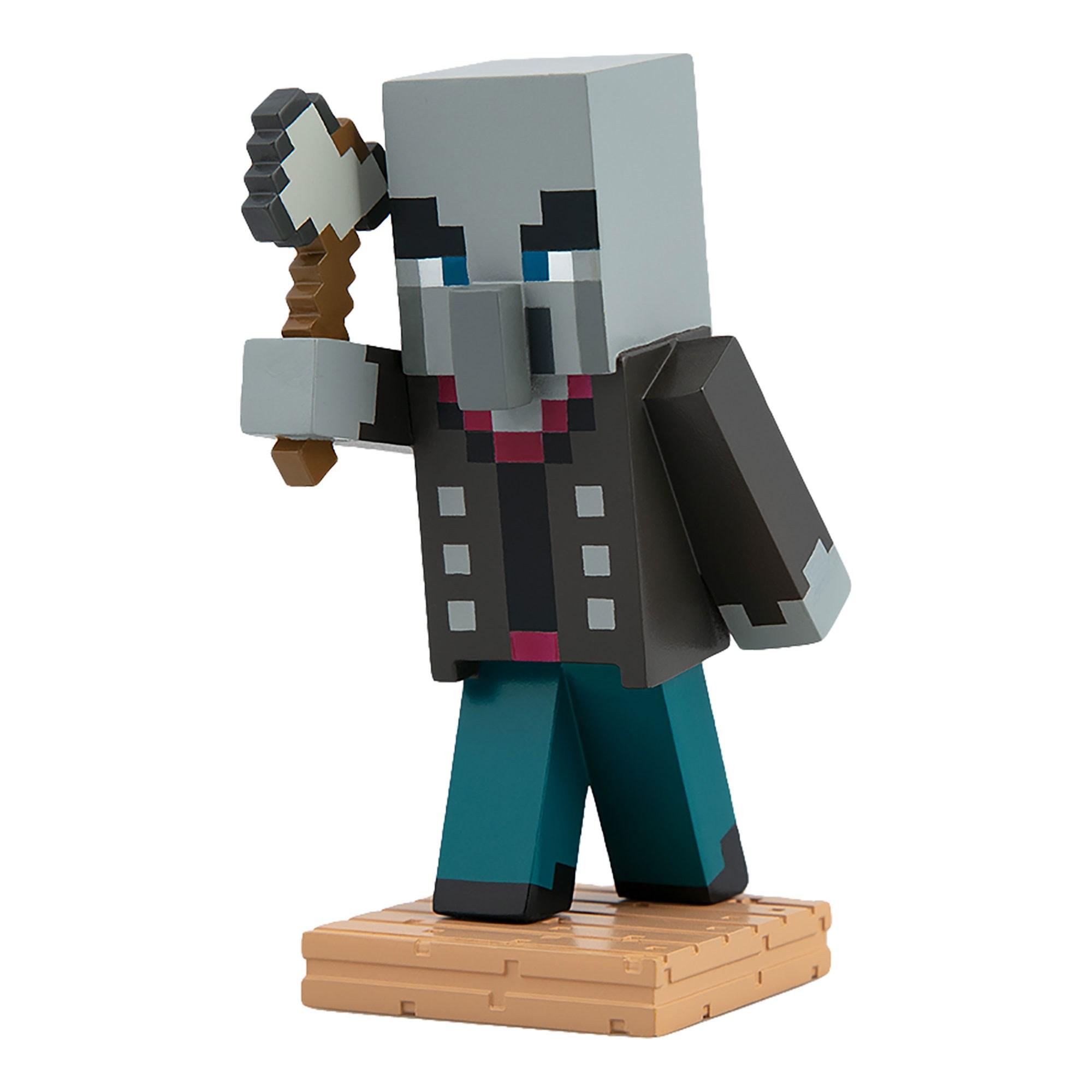 Figúrka Vindicator v škatuľke - Minecraft (10 cm)