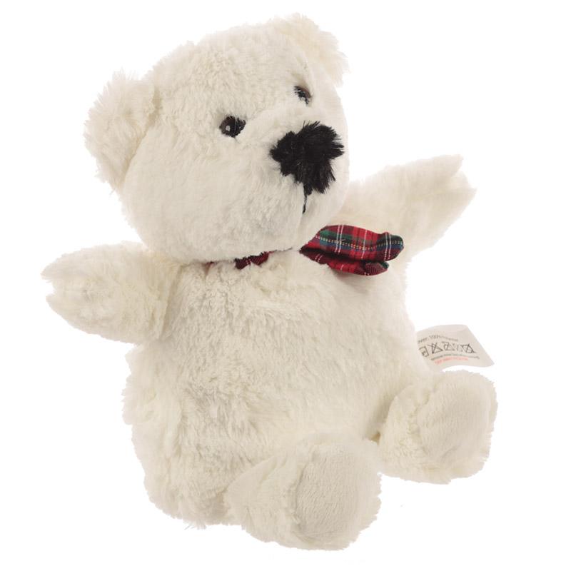 Hrejivý plyšový ľadový medveď - Snuggables (29 cm)