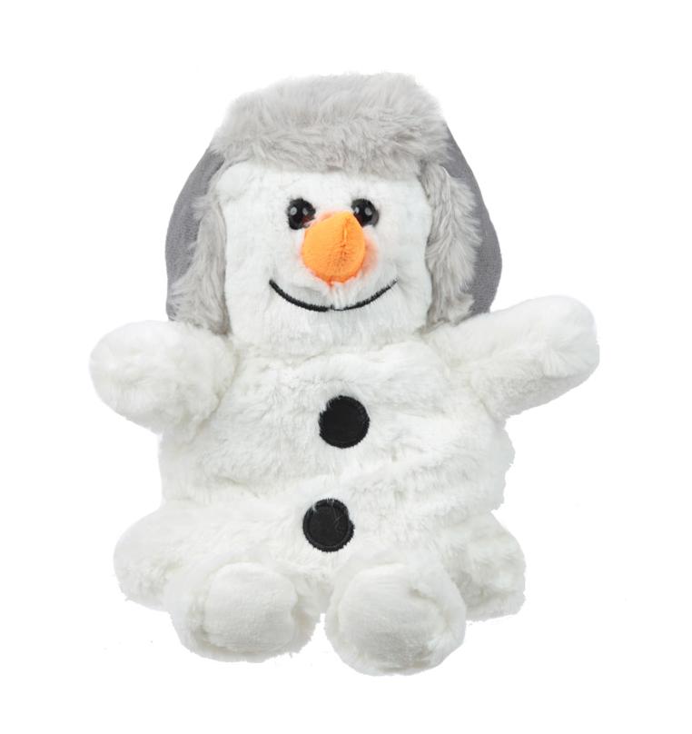 Hřejivý plyšový sněhulák - Snuggables (30 cm)