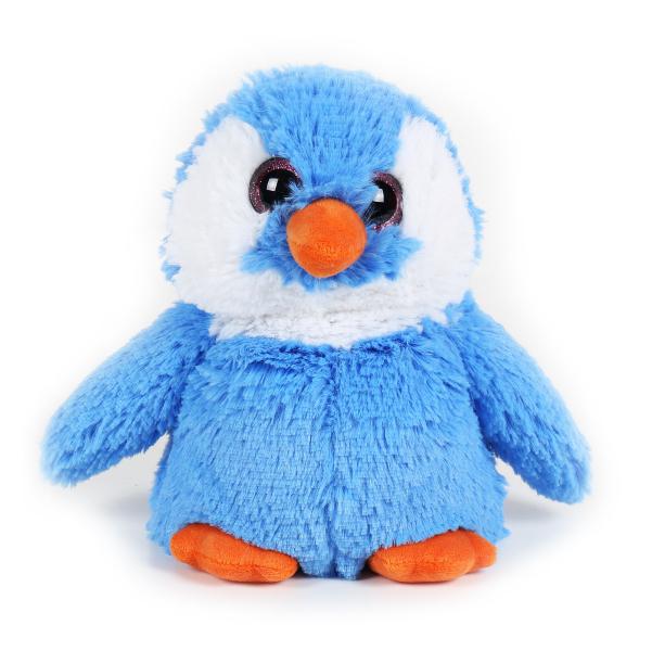 Hrejivý plyšový tučniak - modrý (30 cm)