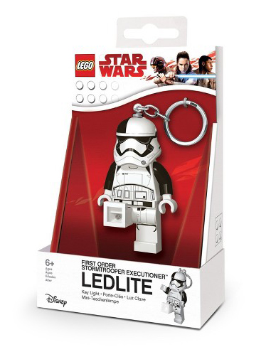 LED kľúčenka Stormtrooper - LEGO Star Wars  (7,5 cm)