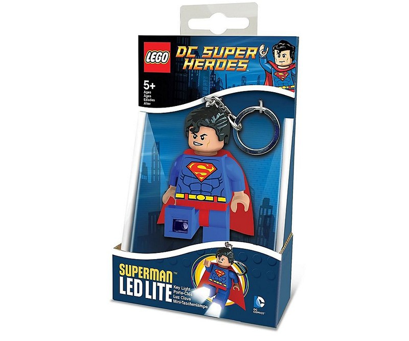 LED kľúčenka Superman - DC Heroes (7,5 cm)