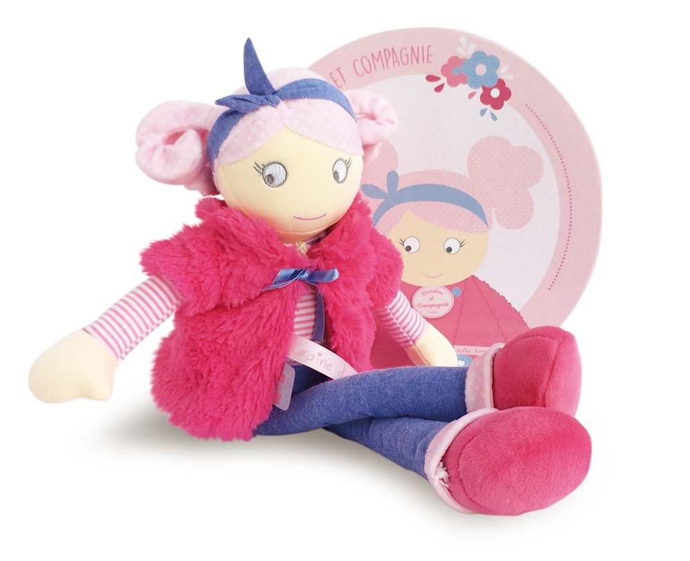 Plyšová bábika Joséphine - Dou Dou (40 cm)