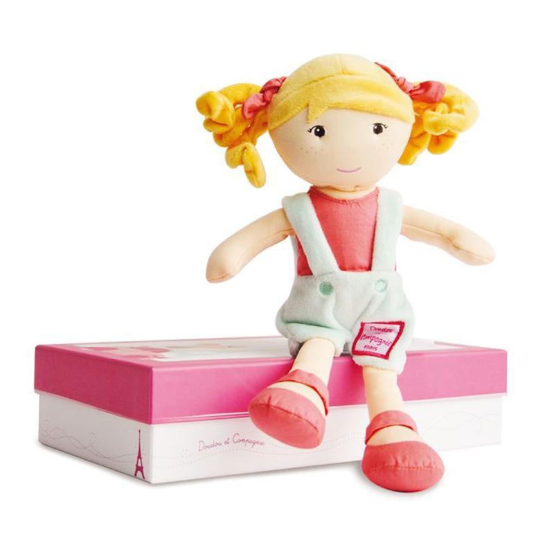 Plyšová panenka Juliette v krabičce - Dou Dou (28 cm)
