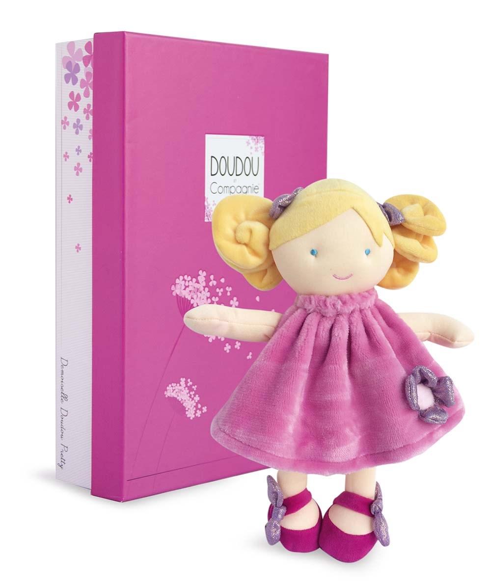 Plyšová panenka Rose v krabičce - Dou Dou (28 cm)