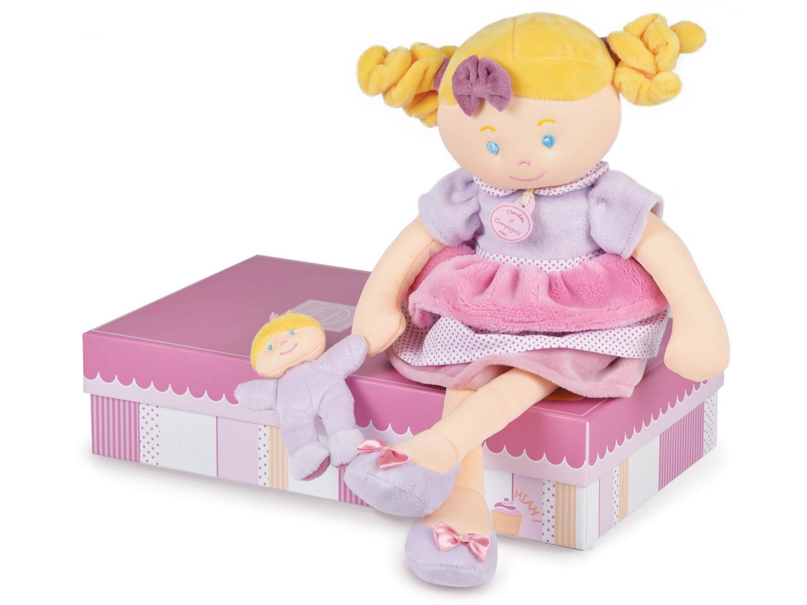 Plyšová bábika Rose v škatuľke - Dou Dou (41 cm)