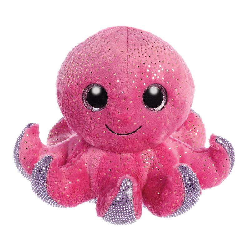 Plyšová chobotnice SeaStar - Sparkle Tales - 13 cm