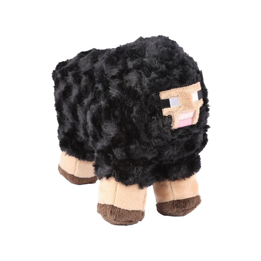 Plyšová čierna ovca - Minecraft (30 cm)