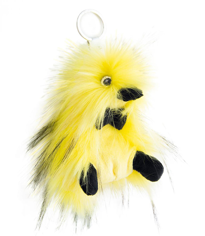 Plyšová kačička Punkie Yellow - prívesok - Coin Coin (12 cm)