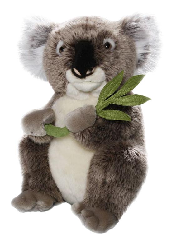 Plyšová koala s větvičkou - Authentic Edition(30 cm)