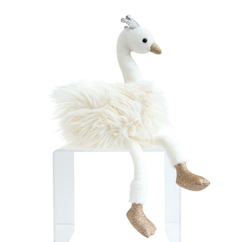 Plyšová labuť Blanc - Histoire D´Ours (45 cm)