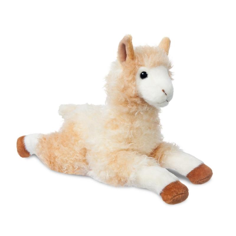 Plyšová lama alpaka Alfie - Flopsies (30,5 cm)