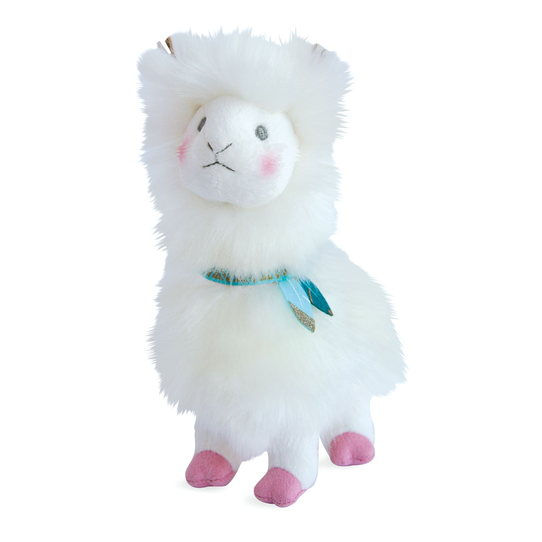 Plyšová lama Blanc - Histoire D´Ours (20 cm)