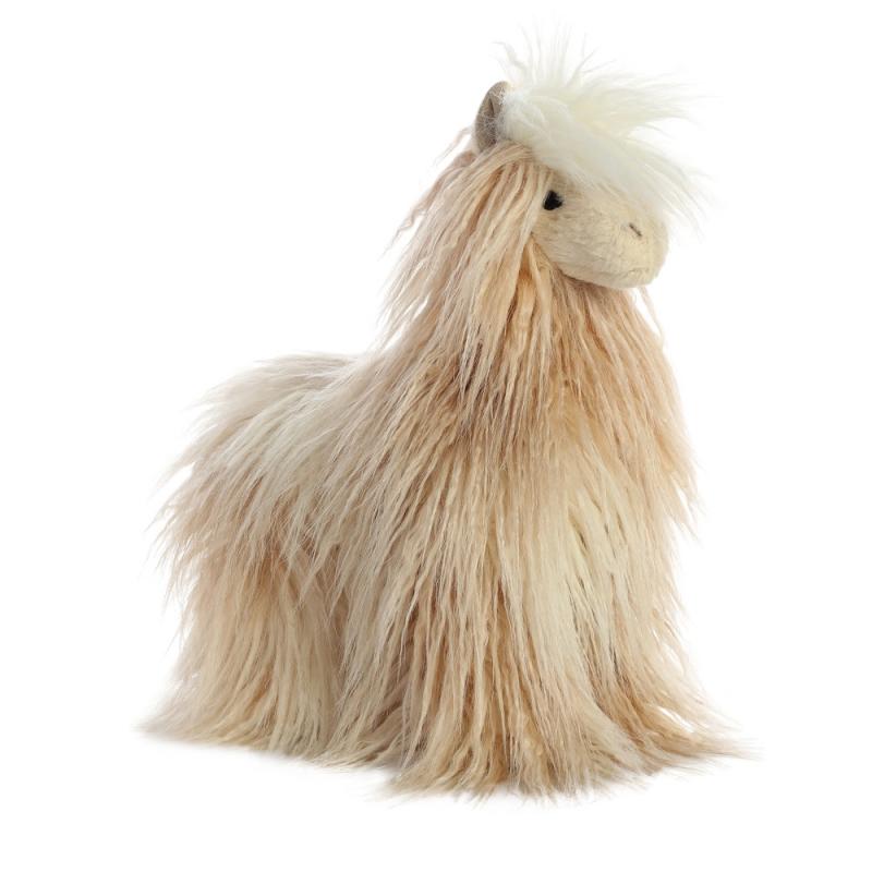 Plyšová lama Lele - Luxe Boutique (33 cm)