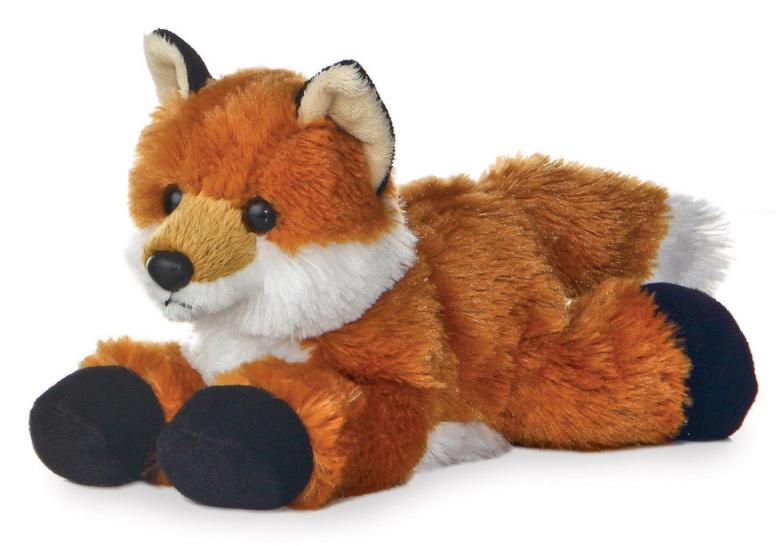 Plyšová líška Foxxie - Flopsie (20,5 cm)