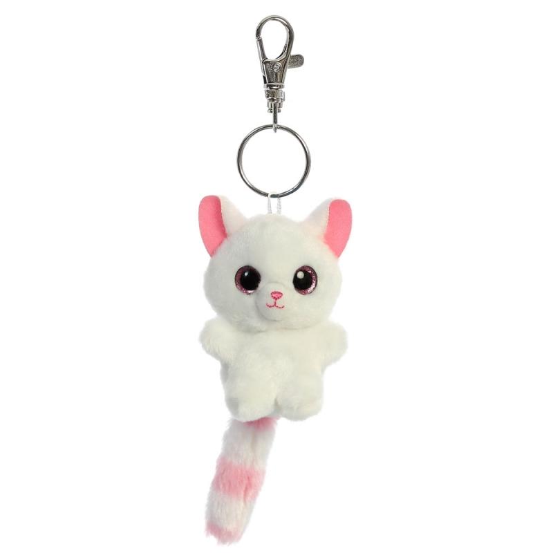 Plyšová líška Pammee Baby - kľúčenka - YooHoo (9 cm)