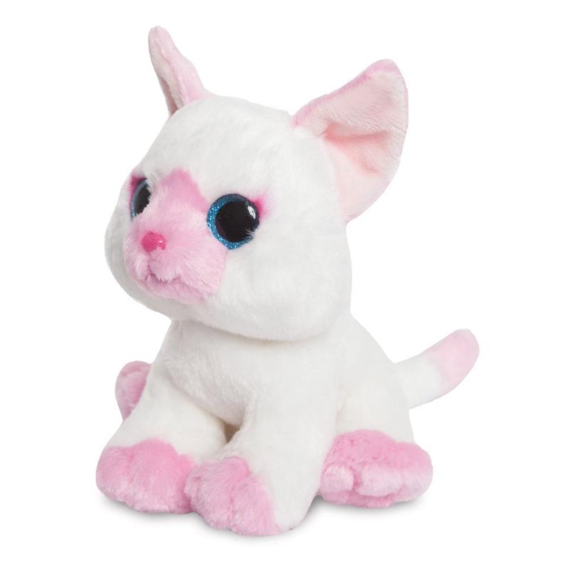 divoké ružové mačička