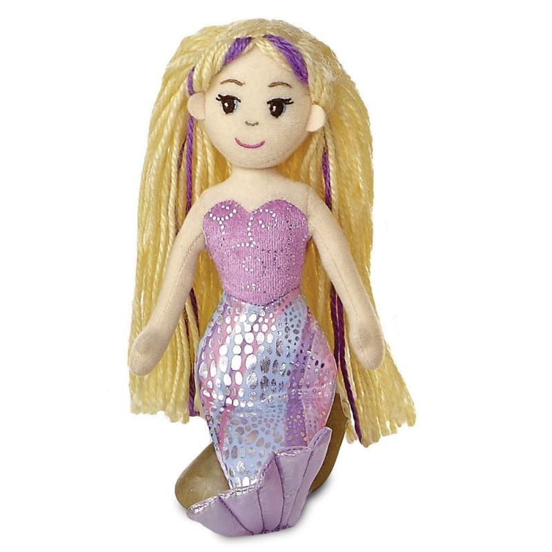 Plyšová morská panna Serena - Sea Sparkles (26 cm)