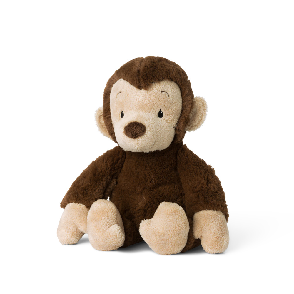 Plyšová opička Mago hnedá - WWF cub club - 27 cm
