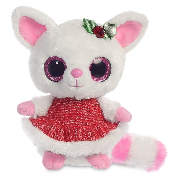 Plyšová Pammee s imelom červená - YooHoo (12,5 cm)