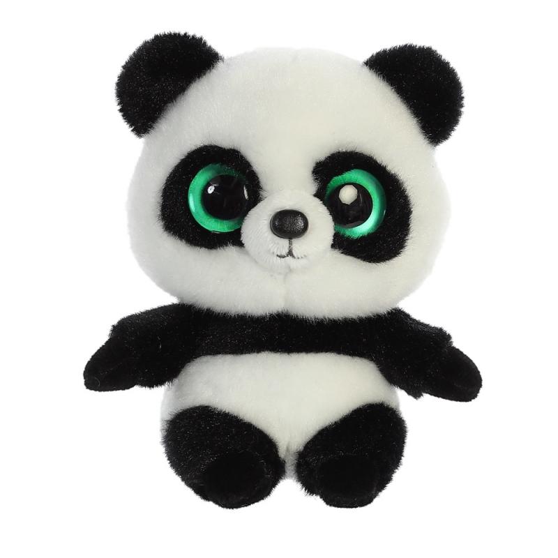 Plyšová panda Ring Ring Baby - YooHoo (12,5 cm)