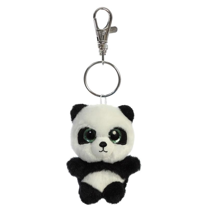 Plyšová panda Ring Ring Baby - klíčenka - YooHoo (9 cm)