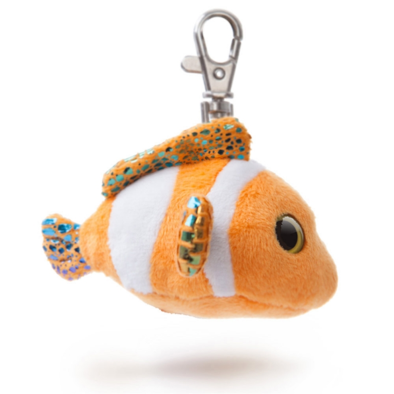 Plyšová rybka Clownee  kľúčenka - YooHoo (7,5 cm)
