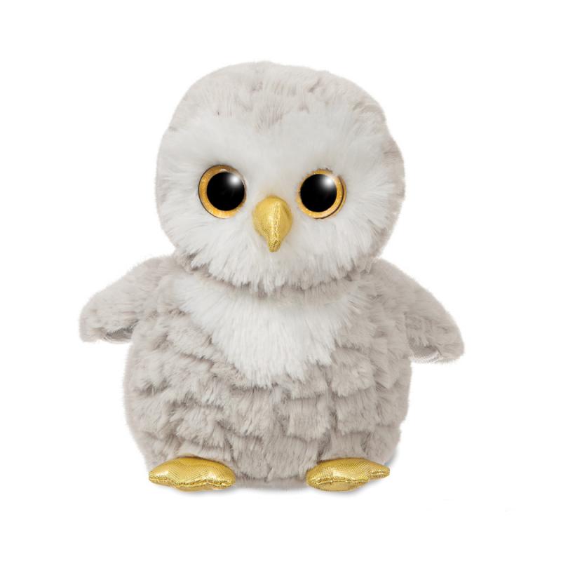 Plyšová sova Oscar - Sparkle tales - 18 cm