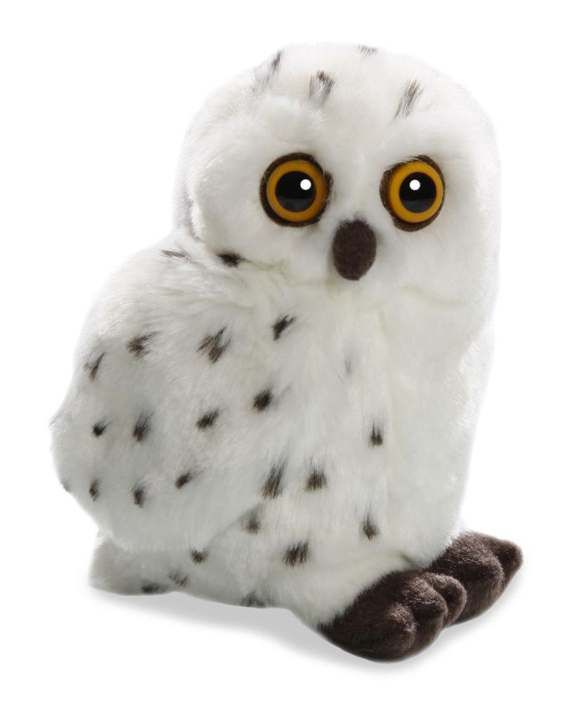 Plyšová sova snežná - Authentic Edition (20 cm)