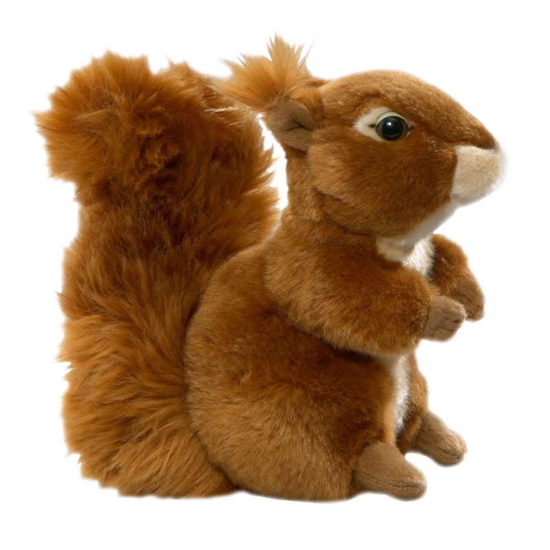 Plyšová veverička - Authentic Edition (16,5 cm)