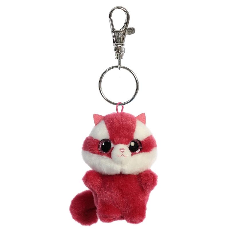 Plyšová veverička Chewoo Baby - kľúčenka - YooHoo (9 cm)