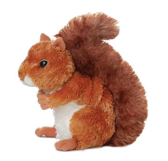 Plyšová veverička Nutsie - Flopsie (20,5 cm)