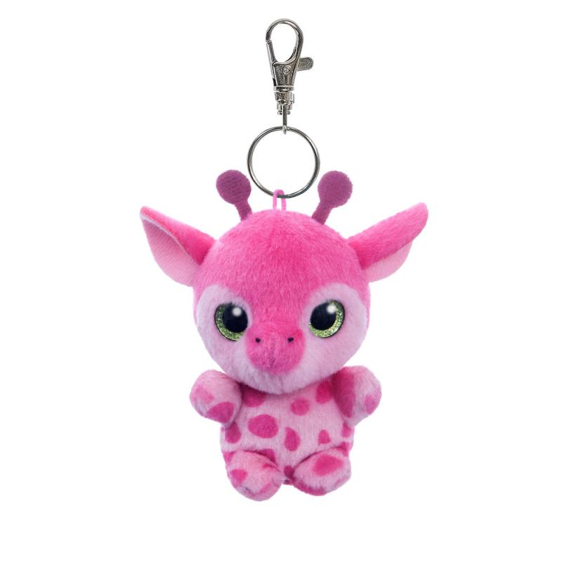 Plyšová žirafa Gina - klíčenka - YooHoo - 9 cm