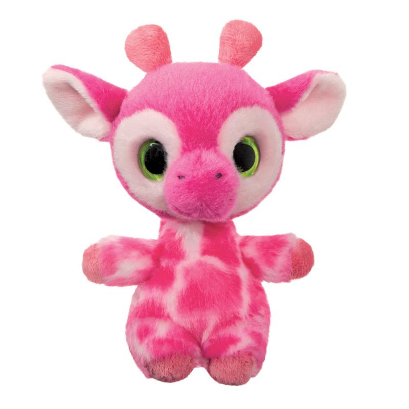Plyšová  žirafa Gina - YooHoo - 15 cm
