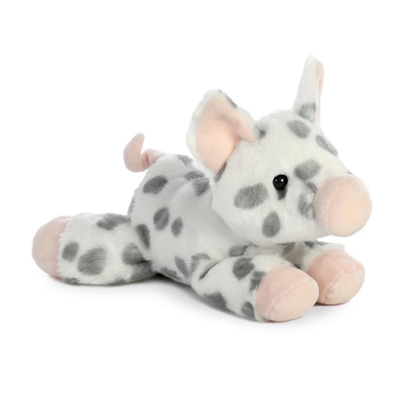 Plyšové prasátko skvrnité - Flopsies Mini (20,5 cm)